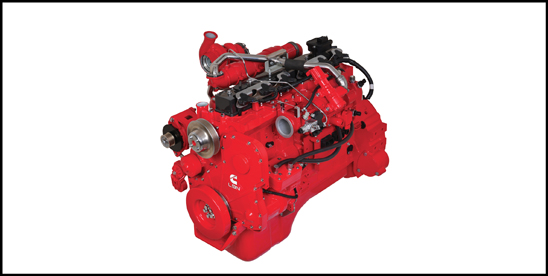 Cummins Westport L9 Natural Gass Engine