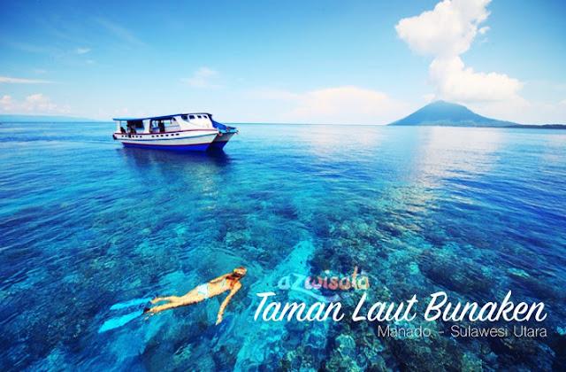Indahnya Pesona Bawah Laut Bunaken