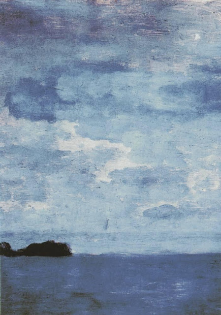 Исаак Ильич Левитан - Море. Финляндия. 1896