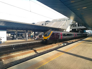 CrossCountry Voyager at Reading