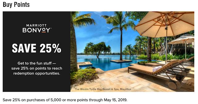最後機會!Marriott萬豪重啟買分折扣!購買5000點或以上點數可享25%優惠(5/15前)