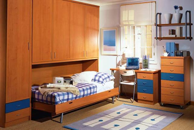 Decoracion de dormitorios juveniles peque os for Dormitorios pequenos juveniles