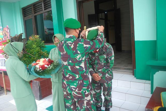 Kepala Staf Kodim 0716 Demak Letkol Inf Kadarusman Resmi Memasuki Masa Pensiun