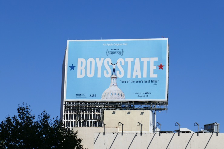 Boys State film billboard