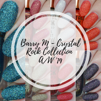 Barry M Crystal Rock Collection A/W 19