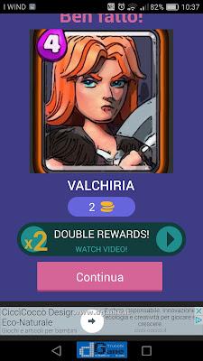 Indovina la carta Royale soluzione livello 43