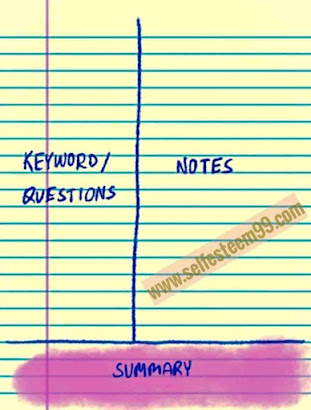 How to make notes ? | Cornell Note-taking Method |