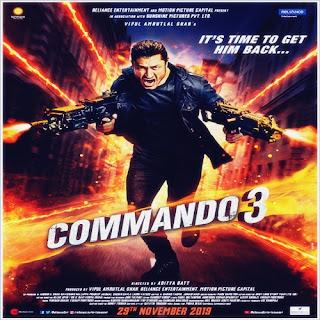 Commando 3 (2019) MP3 Songs