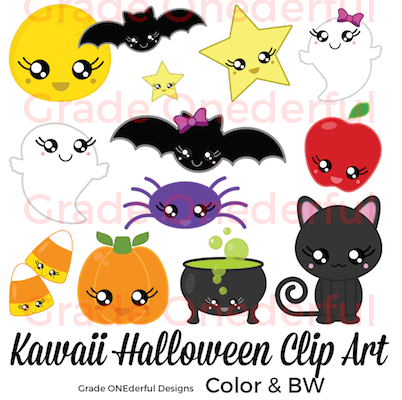 https://www.teacherspayteachers.com/Product/Kawaii-Halloween-Clipart-Cute-Clipart-for-Halloween-2820259