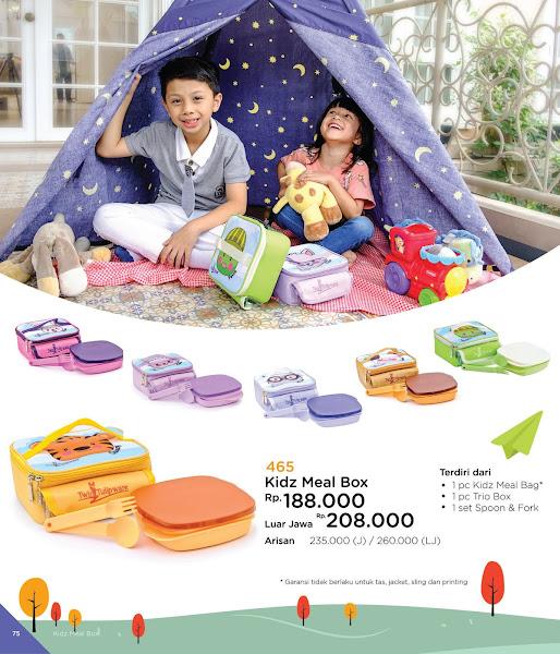 Kidz Meal Box, Katalog Tulipware 2019