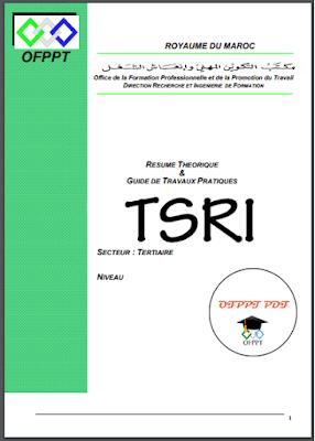 Technicien Réseaux Informatiques TRI TSRI OFPPT PDF