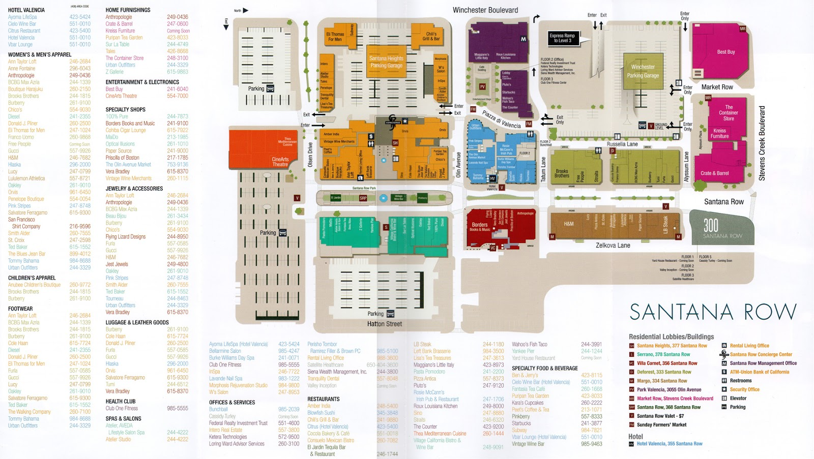 BIGMallrat Shopping Malls In The San Francisco Bay Area And - San jose great mall map
