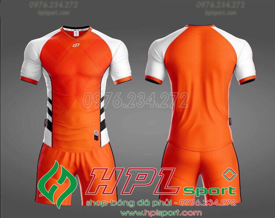Áo ko logo CP Hro màu cam