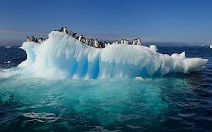 El derretimiento del hielo en la Antártida está afectando los niveles del mar en la Tierra