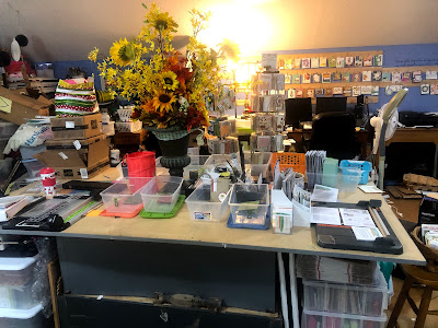 Rick Adkins Independent Stampin' Up! Demonstrator, Studio Tour 2020, Organization tips