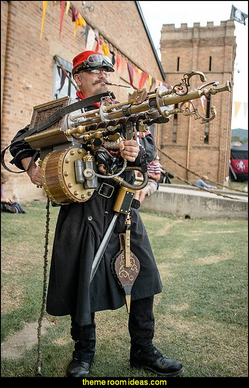 steampunk pete  Steampunk decorating ideas - Victorian punk rock style creates the steampunk theme - steam punk Industrial style decorating ideas  - steampunk gears decor - Steampunk clothes - Steampunk Costumes - Steampunk home decor