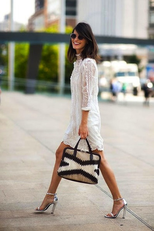Chic Little White Dress Styles