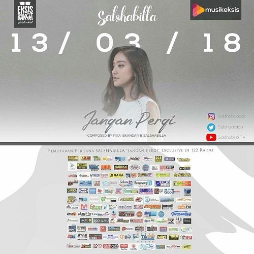 Salshabilla Adriani - Jangan Pergi