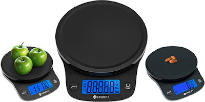 0.1Gram Etekcity Food Scale (EK9000) - Mini Battery-Powered Electronic Weighing Kitchen Gadget