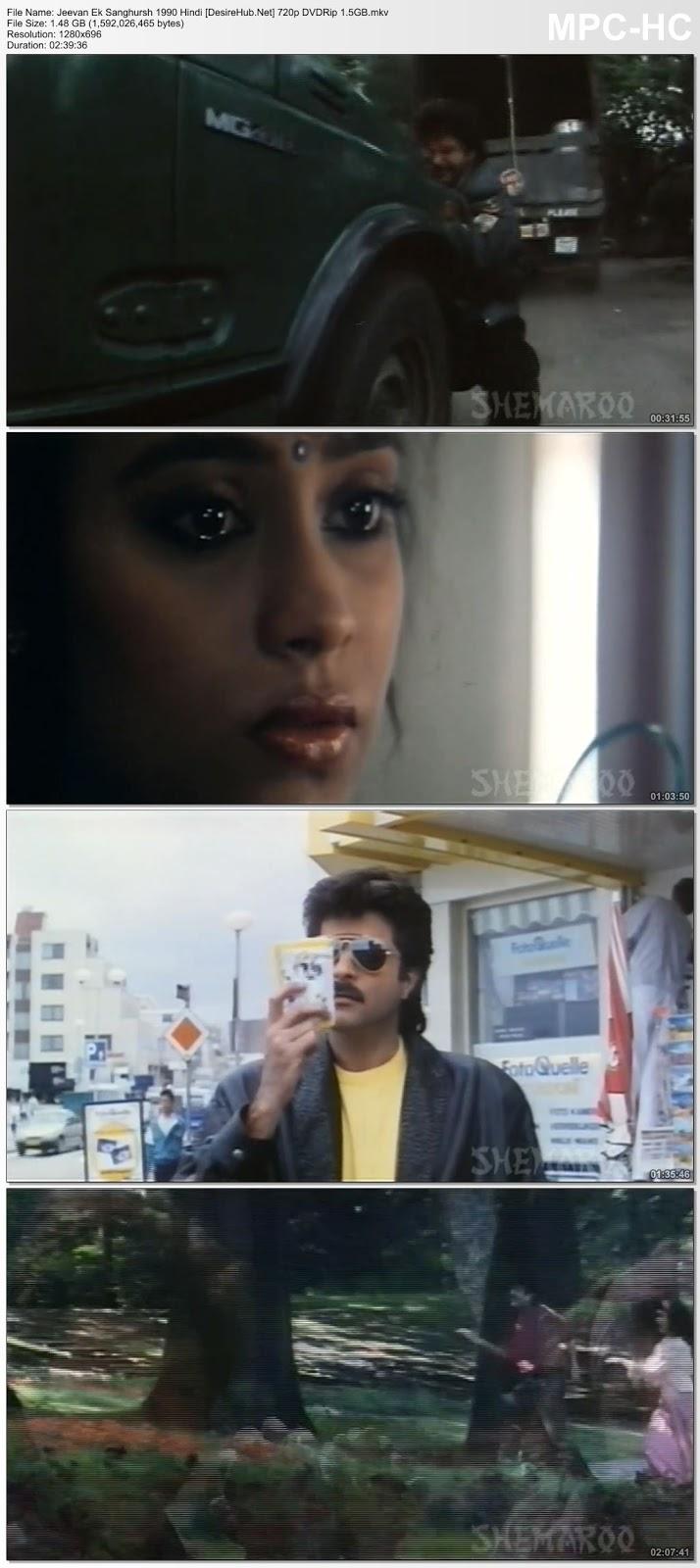 Jeevan Ek Sanghursh 1990 Hindi 720p DVDRip 1.5GB | MoviesHub
