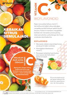 Vitamin C Semulajadi 500mg dengan Bioflavonoids Untuk Apa