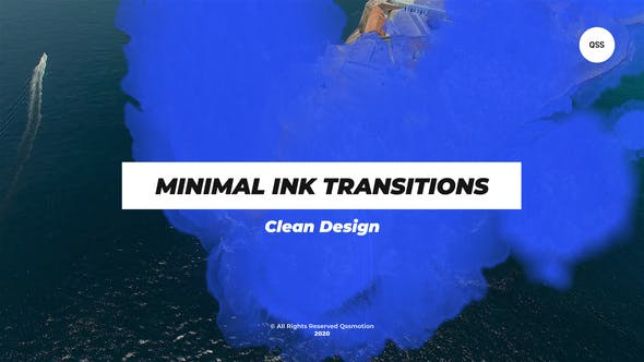 Videohive Minimal Ink Transitions 28514871