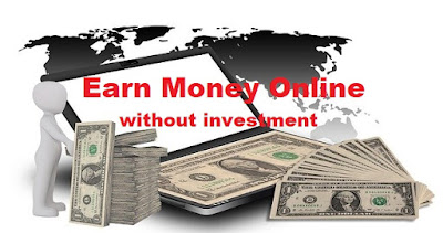 How to earn money online without investment, Top 5 ways to earn money online, earn money from blogging, earn money from youtube