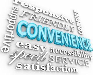 Comfortable กับ Convenience ต่างกันอย่างไร