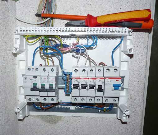 electrical panel in homes