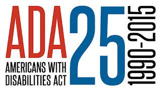 ADA 25 Year Anniversary logo