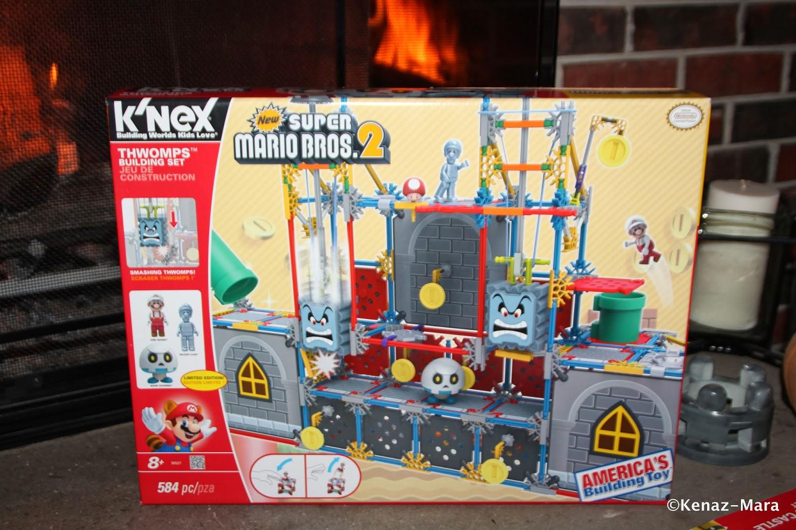 ChiIL Mama : Holidaze Day #4: New Super Mario Bros ™ 2 Thwomps