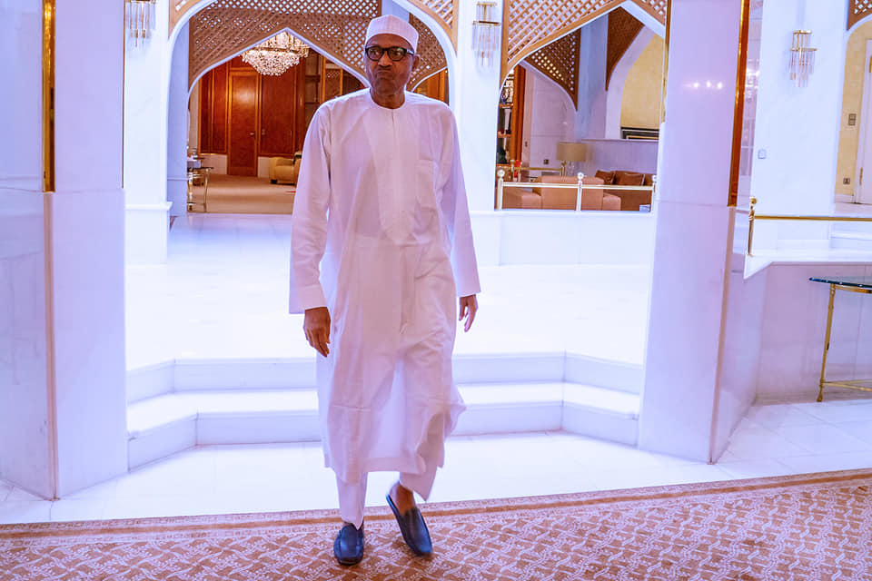 Coronavirus : President Buhari receives briefing from Minister of Health and DG NCDC (Photos)