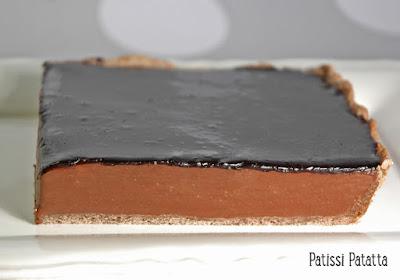 Tarte au chocolat, Christian Constant,