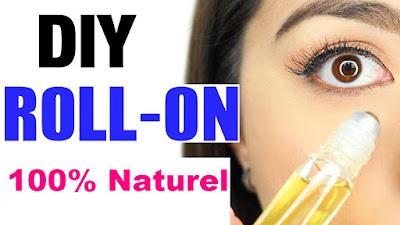 Roll-on contour des yeux fait maison anti-fatigue & anti-rides