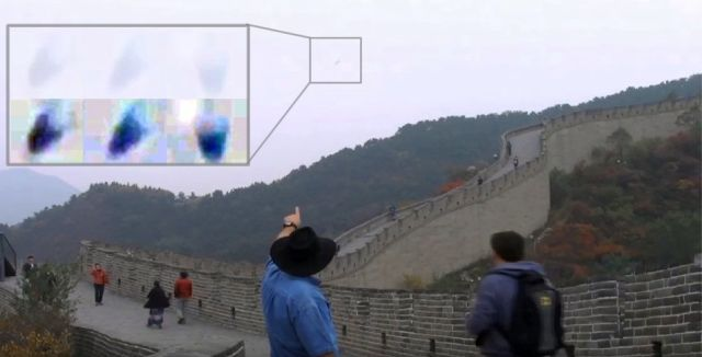 UFO News ~ Jellyfish like UFO caught on camera China Great Wall CCTV  plus MORE Jelly-like-ufo-china-great-wall