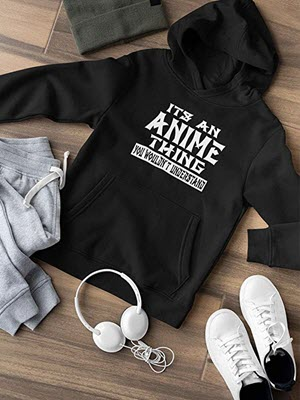 Women's Hoodie for Anime Fans