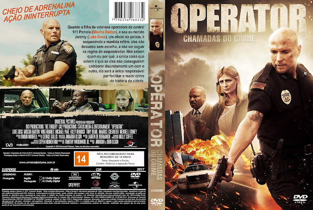 Capa DVD Operator Chamadas Do Crime