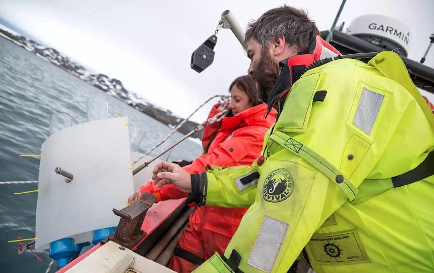 Biólogo explica la ardua tarea de sacar el lindano del mar antártico