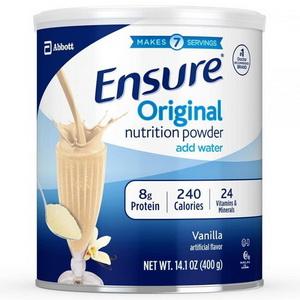 Sữa Bột Dinh Dưỡng Hương Vanilla Ensure Original Hàng Xách Tay Từ Mỹ