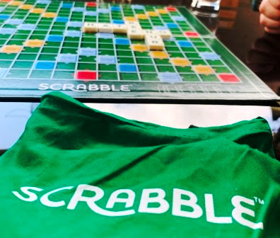 Scrabble close-up
