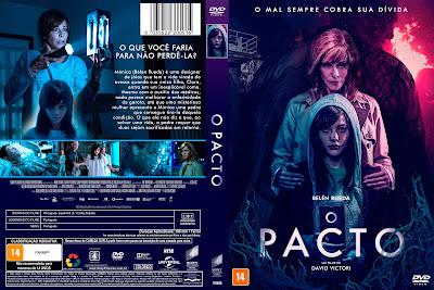 Filme O Pacto (El Pacto - 2018) DVD Capa
