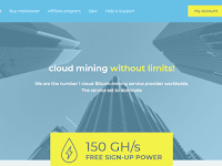ElderHash Review [SCAM] - Register Free 150GH/s Cloud Mining Bitcoin