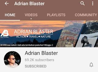 Youtube Adrian Blaster