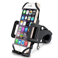 un support pour mettre son téléphone sur le guidon de son vélo