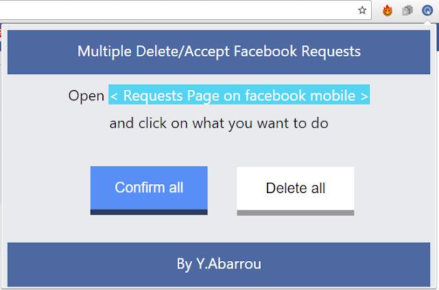Gifs-Facebook: Multiple Delete/Accept Facebook Friend Requests