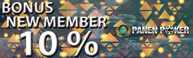 PROMO BONUS DEPOSIT HARIAN 10% - PANEN POKER