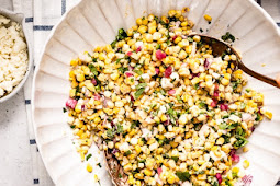 ★★★★★     Mexican Street Corn Salad