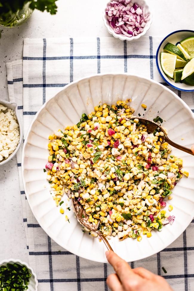 ★★★★★ |   Mexican Street Corn Salad