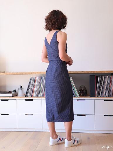 """Une """"Axis Dress"""" pour Moi... (Patron de chez Papercutpatterns) par m Gg++"""