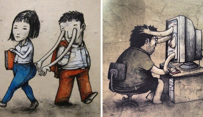 28 Mind-Blowing Illustrations By The French Banksy That Will Make You Think